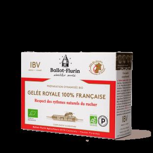 Préparation dynamisée à la Gelée Royale Française Bio