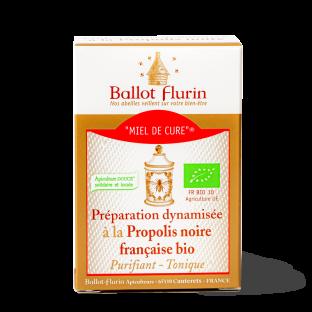 Miel de Cure® à la Propolis noire française bio