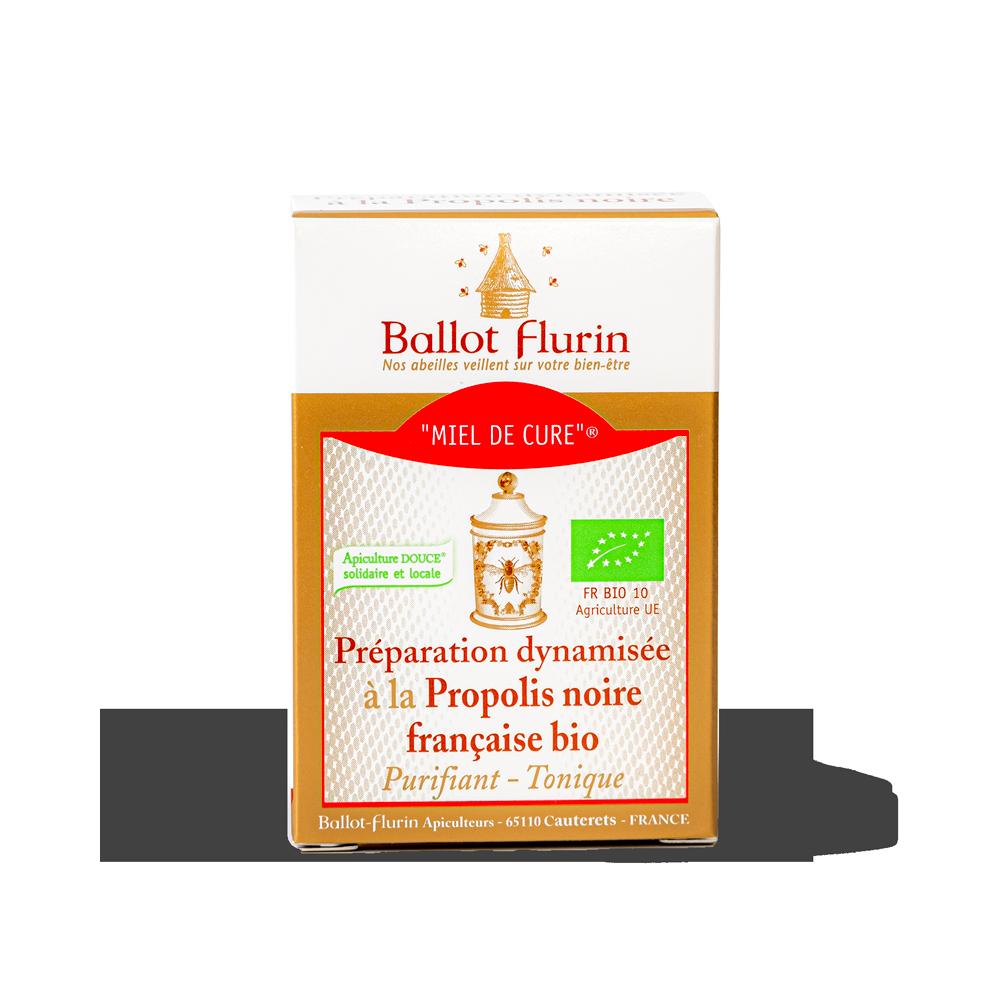 Miel de Cure® à la Propolis noire française bio Ballot-Flurin - 2