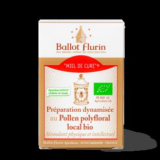 Miel de Cure® au Pollen polyfloral local bio
