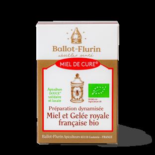 Miel de Cure® à la Gelée Royale française bio