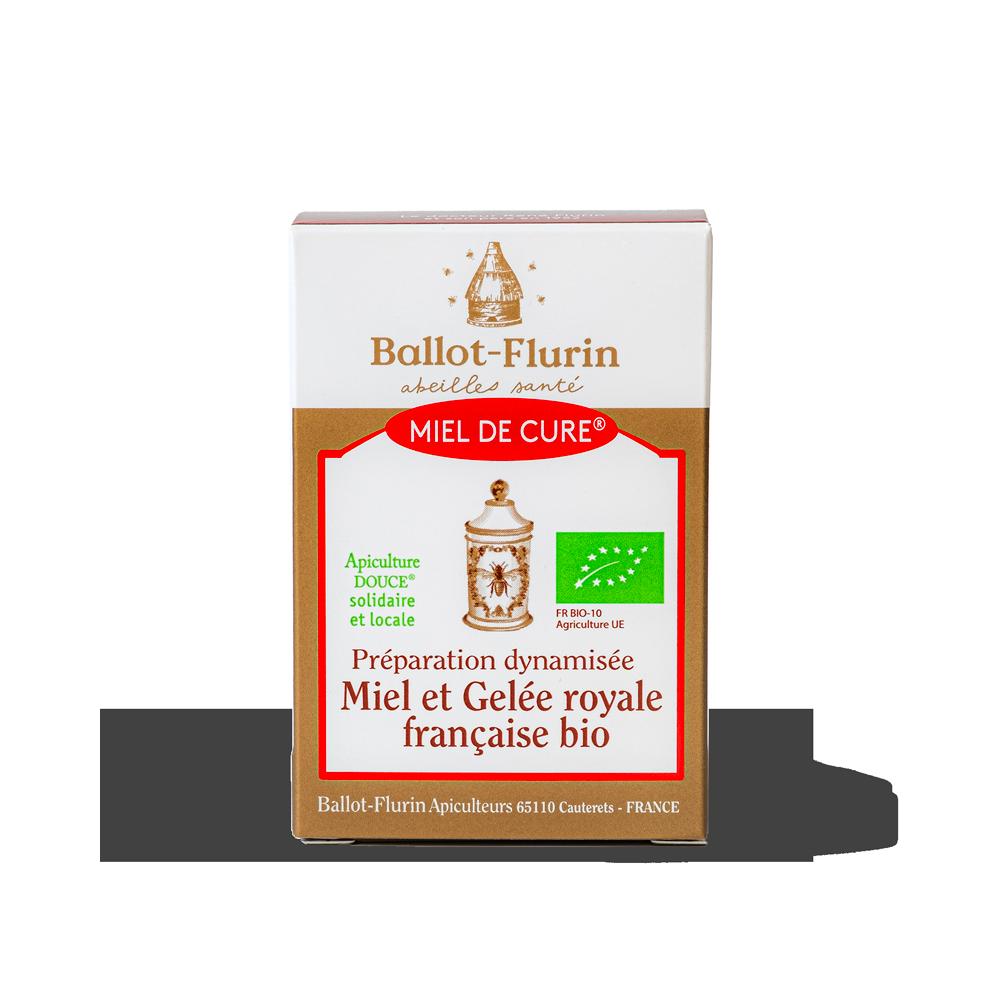 Miel de Cure® à la Gelée Royale française bio Ballot-Flurin - 1