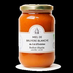 Miel de Bruyère Blanche du Col d'Extrême