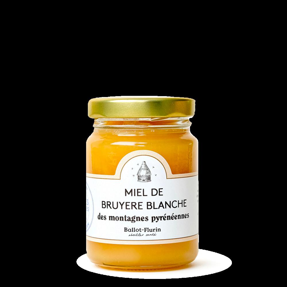 Miel de Bruyère Blanche des montagnes Pyrénéennes Ballot-Flurin - 1